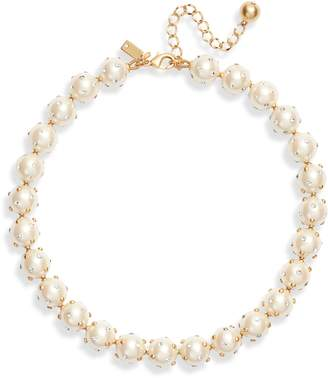 Kate Spade Studded Pearly Bead Necklace