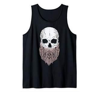 Cool Bearded Skull t shirt; Awesome Skull t shirt Tank Top