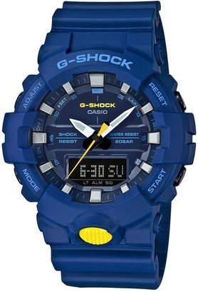 G-Shock Men's Analog-Digital Blue Resin Strap Watch 48.6mm