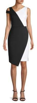 Calvin Klein Colorblock Sheath Dress