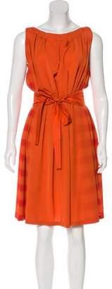 Bottega Veneta Silk A-Line Dress