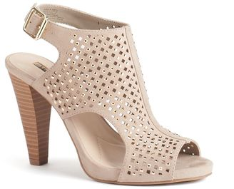 Jennifer Lopez Women's Caged Slingback High Heels $79.99 thestylecure.com