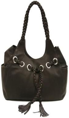 Piel Leather BRAIDED HOBO