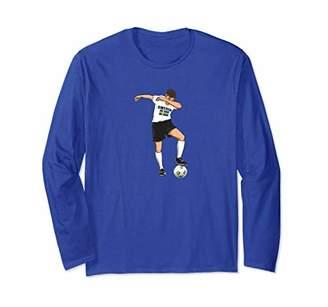 Dabbing Sweden Soccer Player T-Shirt Funny Boys Girls