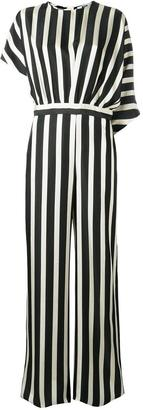 MSGM straight striped jumpsuit
