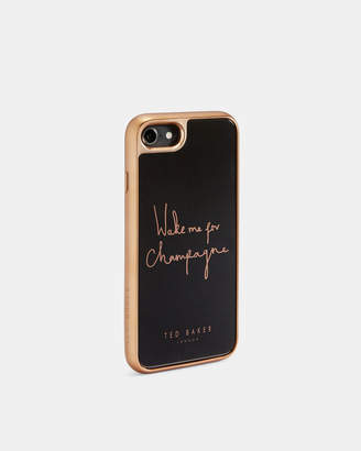 Ted Baker BUBLIE Wake me for champagne iPhone 6/6s/7/8 case
