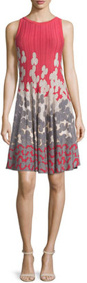 NIC+ZOE Posie Twirl Fit-and-Flare Dress $218 thestylecure.com