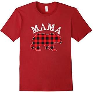 Buffalo David Bitton Red Plaid Mama Bear Matching Family Pajama T-Shirt