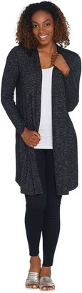 Laurie Felt Long Sleeve Open Front Duster Cardigan