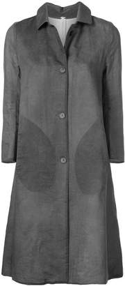 A Diciannoveventitre single-breasted cropped sleeve coat