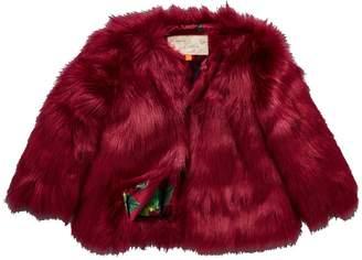 4a4ce59de Girls Faux Fur Coat - ShopStyle UK
