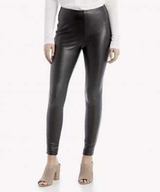 Sole Society Stretch Pleather Pull On Pant
