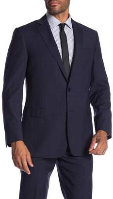 Brooks Brothers Navy Check Classic Fit Suit Separates Jacket
