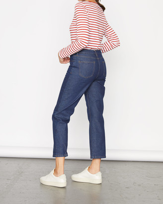 Jigsaw Crop Straight Leg Ankle Jean