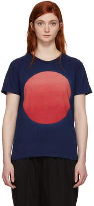 Blue Blue Japan Indigo Graduated Circle T-Shirt
