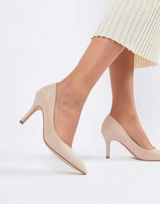 Faith Chariot Heeled Pumps in light pink