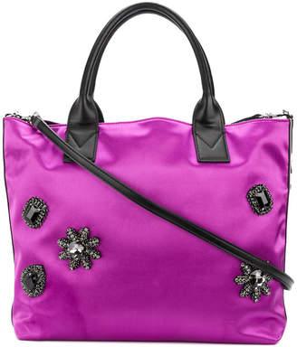 Pinko embellished tote bag