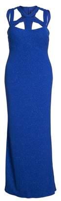 Marina Cutout Detail Gown