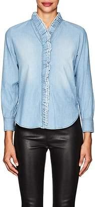 Etoile Isabel Marant Women's Lawendy Cotton Chambray Shirt