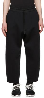 Y-3 Black Future Sport Lounge Pants $420 thestylecure.com