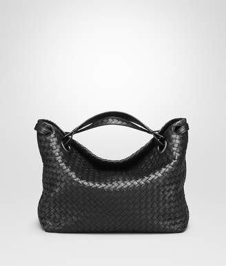 Bottega Veneta NERO INTRECCIATO NAPPA MEDIUM GARDA BAG