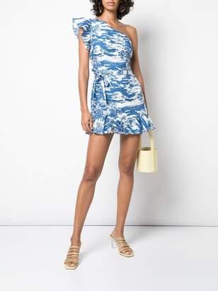 Reformation Summer print mini dress