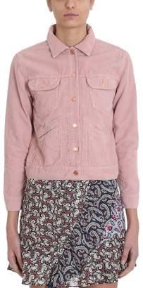 ec0b3fdafd Etoile Isabel Marant Pink Corduroy Foftya Jacket