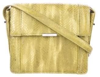 Jason Wu Snakeskin Crossbody Bag Lime Snakeskin Crossbody Bag