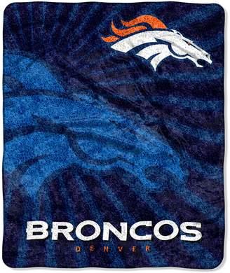 Denver Broncos Sherpa Blanket