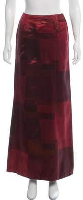 Akris Colorblock Maxi Skirt multicolor Colorblock Maxi Skirt