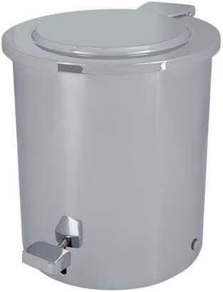 Zodiac Cylinder Chrome Pedal Bin