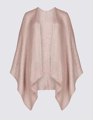 Marks and Spencer Sequin Wrap