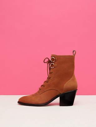 Diane von Furstenberg Dakota Lace-Up Boots