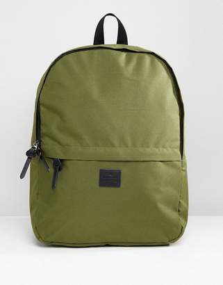 Asos DESIGN Backpack In Khaki