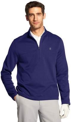 Izod Men's Classic-Fit Hydra Shield Half-Zip Fleece Golf Pullover