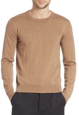 Ami Fine Gauge Wool Sweater
