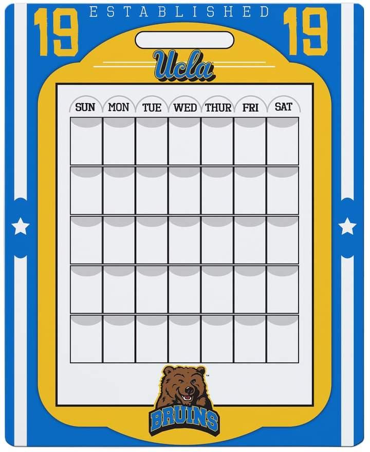 Kohl's UCLA Bruins Dry Erase Calendar