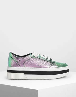 Charles & Keith Flatform Sneakers