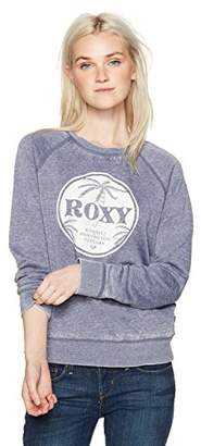Roxy Women's Be Shore Pullover Crew Sweatshirt
