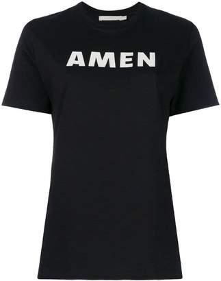 Amen logo print T-shirt