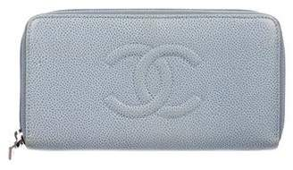 Chanel Timeless L-Gusset Wallet