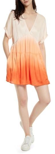 Women's Free People Sun Up Tie Dye Tunic Dress