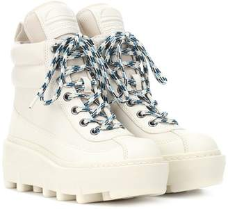 Marc Jacobs Shay leather hiking boots