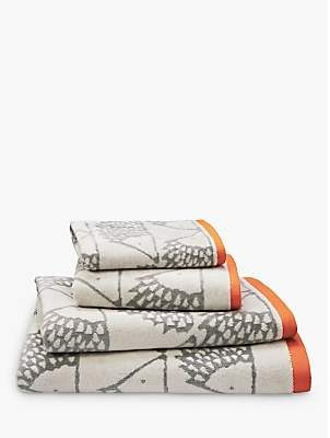 Scion Spike Towels, Silver