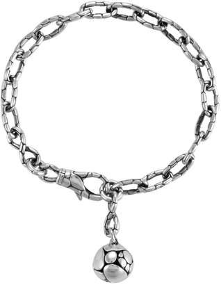 John Hardy Women's Kali Silver Link Ball Charm Bracelet