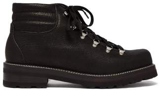 Montelliana - Tom Lace Up Leather Boots - Mens - Black