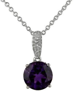 Fine Jewellery Amethyst Pendant Necklace