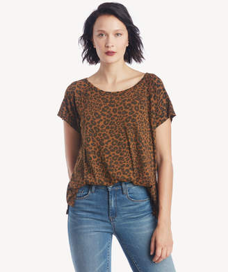 Sanctuary Women's Beacon Tee In Color: Caramel Leopard Size XS From Sole Society