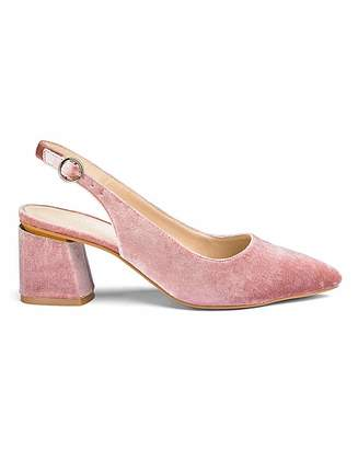 7dc25e0b153 Pink Block Heel Shoes - ShopStyle UK