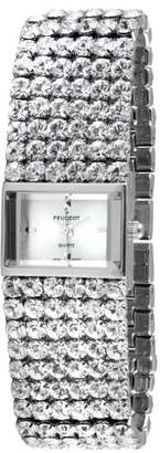 Peugeot Women's J1814S Crystal-Accented Watch